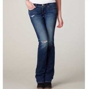 American Eagle Stretch Slim Boot Low Rise Jeans 2R